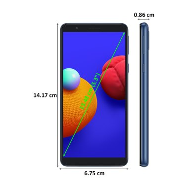 Samsung Galaxy M01 Core (16GB ROM, 1GB RAM, Blue) 3