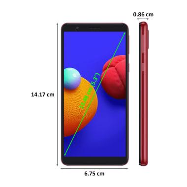 Samsung Galaxy M01 Core (16GB ROM, 1GB RAM, Red) 3
