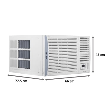Voltas 1.5 Ton 5 Star Inverter Window AC (Adjustable AC, Copper Condenser, 185V ADA, White) 4