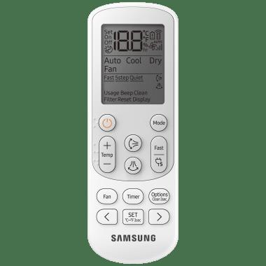 Samsung 1.5 Ton 5 Star Inverter Split AC (Convertible AC, Copper Condenser, AR18AY5ZBWK, White) 8