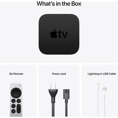 Apple TV HD 32GB Media Streaming Box (Siri Remote, MHY93HN/A, Black) 7