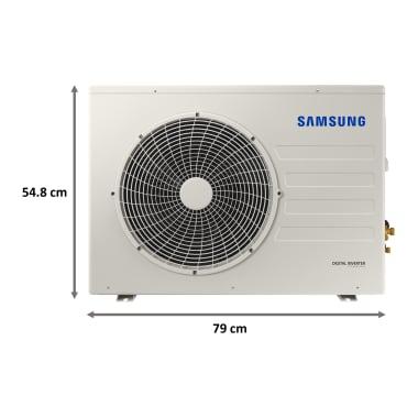 Samsung 1.5 Ton 5 Star Inverter Split AC (Convertible AC, Copper Condenser, AR18AY5ZBWK, White) 7