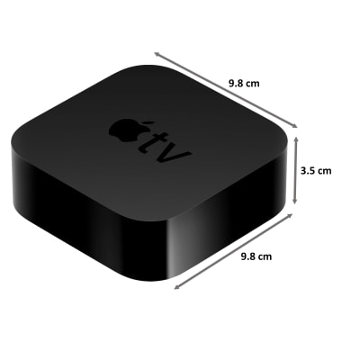 Apple TV HD 32GB Media Streaming Box (Siri Remote, MHY93HN/A, Black) 3