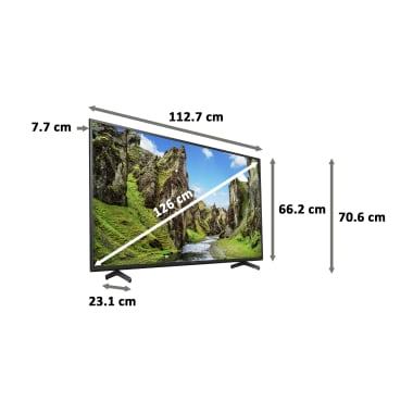 Sony Bravia X75 Series 126cm (50 Inch) Ultra HD 4K LED Android Smart TV (Voice Assistant Supported, KD-50X75, Black) 3
