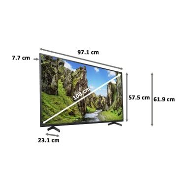 Sony Bravia X75 Series 108cm (43 Inch) Ultra HD 4K LED Android Smart TV (Dolby Audio & Alexa Compatibility, KD-43X75, Black) 3