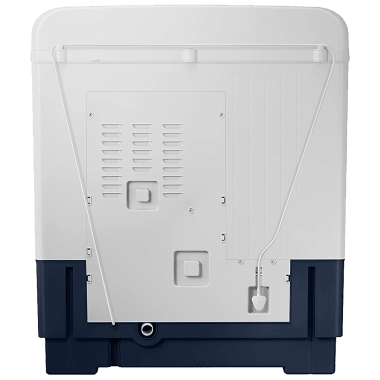 Samsung 9.5 kg 5 Star Semi-Automatic Twin Load Washing Machine (Hexa Storm Pulsator, WT95A4200LL/TL, Light Grey/Royal Blue) 8