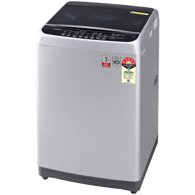 LG 8 kg 5 Star Fully Automatic Top Load Washing Machine (Smart Diagnosis, T80SJSF1Z.ASFQEIL, Middle Free Silver) 4