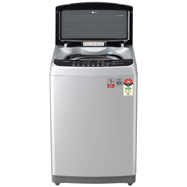 LG 8 kg 5 Star Fully Automatic Top Load Washing Machine (Smart Diagnosis, T80SJSF1Z.ASFQEIL, Middle Free Silver) 9
