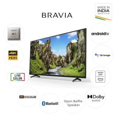 Sony Bravia X75 Series 108cm (43 Inch) Ultra HD 4K LED Android Smart TV (Dolby Audio & Alexa Compatibility, KD-43X75, Black) 9