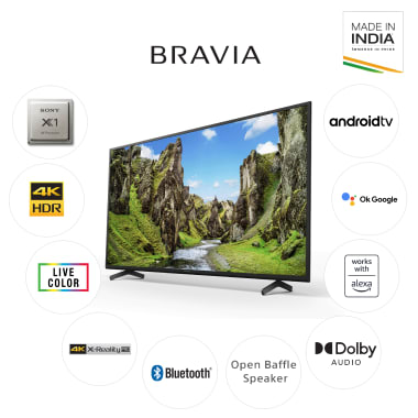 Sony Bravia X75 Series 126cm (50 Inch) Ultra HD 4K LED Android Smart TV (Voice Assistant Supported, KD-50X75, Black) 9