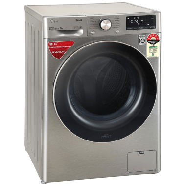 LG 8 kg 5 Star Fully Automatic Front Load Washing Machine (Inverter AI Direct Drive Motor, FHV1408ZWP.APSQEIL, Platinum Silver) 3