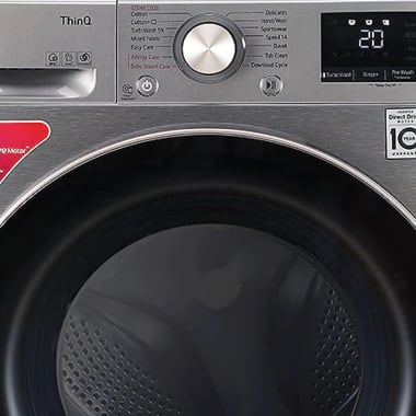 LG 8 kg 5 Star Fully Automatic Front Load Washing Machine (Inverter AI Direct Drive Motor, FHV1408ZWP.APSQEIL, Platinum Silver) 6