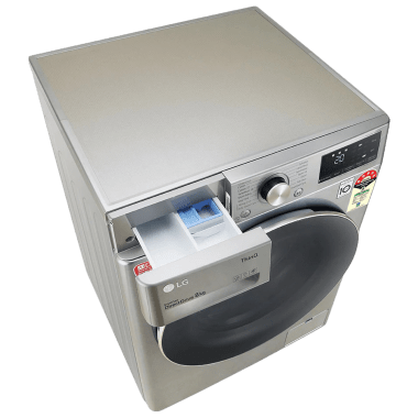 LG 8 kg 5 Star Fully Automatic Front Load Washing Machine (Inverter AI Direct Drive Motor, FHV1408ZWP.APSQEIL, Platinum Silver) 9