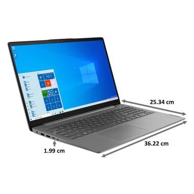 Lenovo IdeaPad 3 15IML05 (81WB015LIN) Core i3 10th Gen Windows 10 Home Laptop (8GB RAM, 1TB HDD, Intel UHD Graphics, MS Office, 39.62cm, Platinum... 3