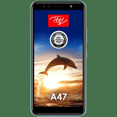 Itel A47 (32GB ROM, 2GB RAM, L5505, Ice Lake Blue) 2