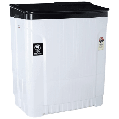 Godrej Edge Ultima 8 kg 5 Star Semi-Automatic Top Load Washing Machine (Tri-Roto Scrub Pulsator, WSEDGE ULT 80 5.0 DB2M CSBK, Crystal Black) 3