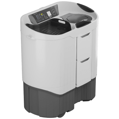 Godrej Edge Digi 8.5 kg 5 Star Semi-Automatic Top Load Washing Machine (Inbuilt Heater, WS EDGE DIGI 85 5.0 PB2 M GPGR, Graphite Grey) 3