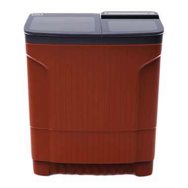 Godrej Edge Ultima 8 kg 5 Star Semi-Automatic Top Load Washing Machine (Toughened Glass Lids, WSEDGE ULT 80 5.0, Crystal Red) 2