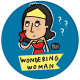 Popsocket Wondering Woman By Alicia Souza Mobile Grip and Stand (CSQ26636, Multicolor)_3