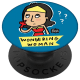 Popsocket Wondering Woman By Alicia Souza Mobile Grip and Stand (CSQ26636, Multicolor)_1