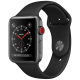 Apple Watch Series 3 Smartwatch (GPS+Cellular, 42mm) (Supports Apple Watch e-SIM, MTH22HN/A, Space Grey/Black, Sport Band)_2