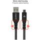 Stuffcool Vite 120 cm USB 2.0 (Type-A) to USB (Type-C) Super Fast Charge Cable (VITEUSBCP, Black)_4