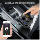 Portronics Auto 10 Bluetooth & USB Car Charging Adapter (POR 320, Black)_6