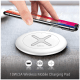 Portronics Toucharge X Wireless Mobile Charging Pad (POR 897, White)_4