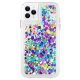 Case-Mate Waterfall Glitter Polycarbonate Back Case Cover for Apple iPhone 11 Pro (CM039352, Confetti)_1