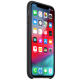 Apple iPhone XS Silicone Back Case Cover (MRW72ZM/A, Black)_2