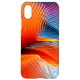 Cangaroo Colourful Abstract Polycarbonate Hard Back Case Cover for Apple iPhone X/XS (HD_iX_Kri_022_ABTORG, Multicolor)_1