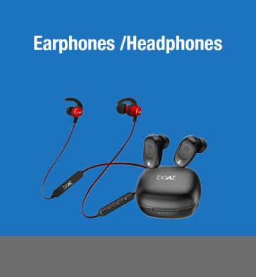 Earphones/Headphones