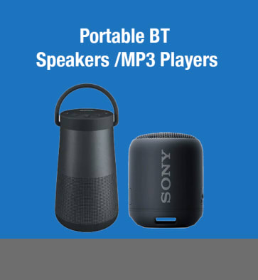 Portable BT Speakers/MP3 Players