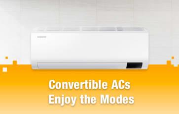 Convertible ACs