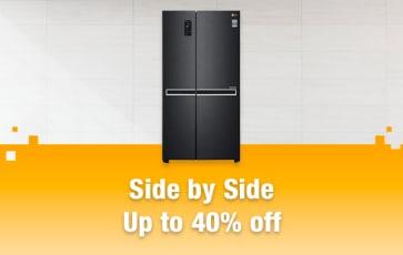 Side by Side Refrigerators
