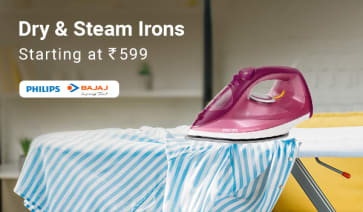 Dry & Steam Irons