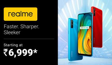 Realme Mobile Starting at 6,999