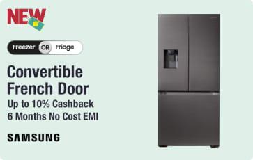Samsung Convertible Refrigerators