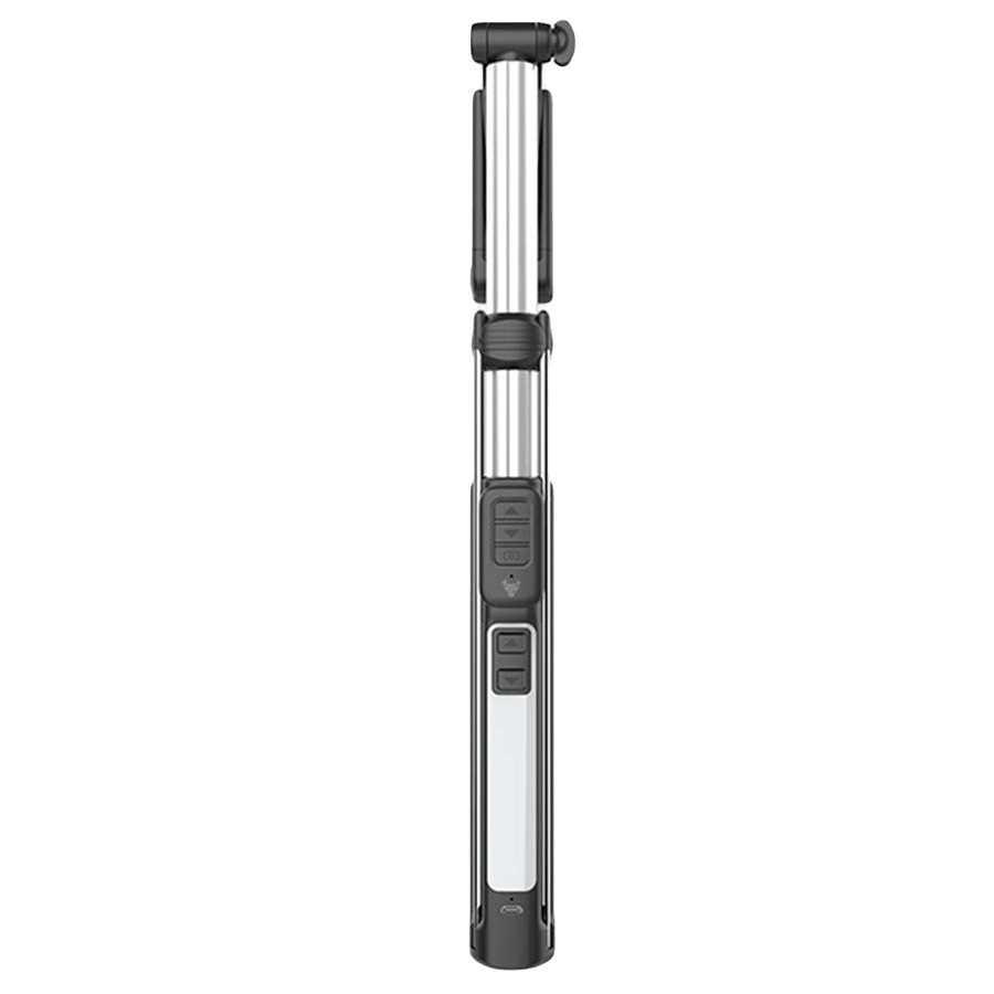Robobull Optimus Multi-Function 3 Level Adjustable Selfie Stick (25LHASX, White)