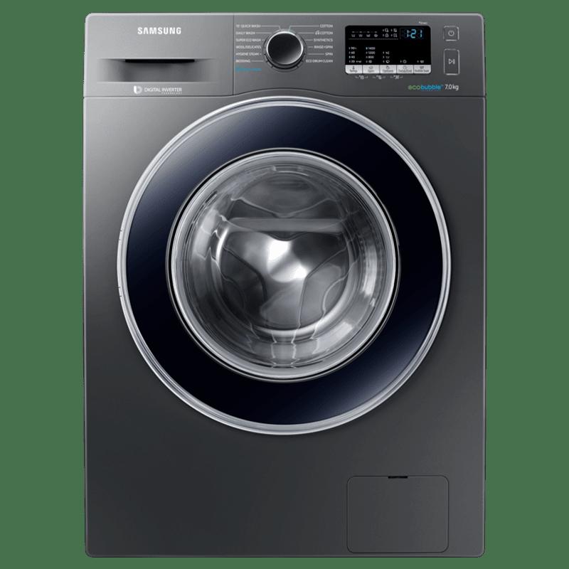 Samsung 7 kg Fully Automatic Front Loading Washing Machine (WW70J42E0BX/TL, Inox)
