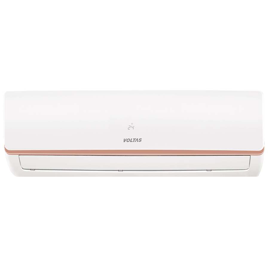 Voltas 1.5 Ton 3 Star Inverter Split AC (Air Purification Function, Copper Condenser, 183V MZSC, White)