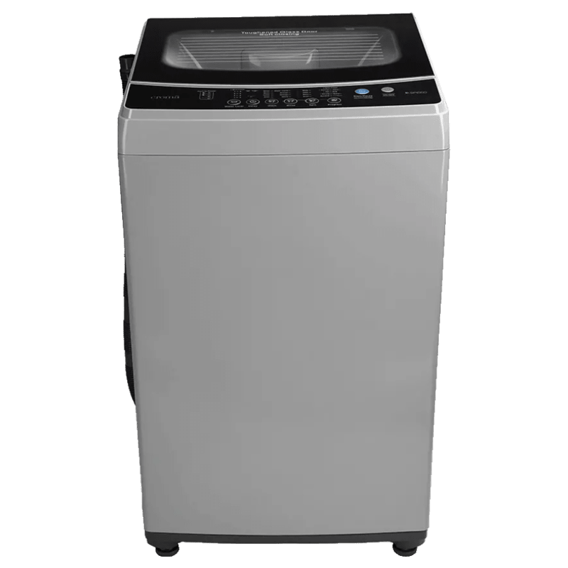 Croma 8 Kg Fully Automatic Top Load Washing Machine (CRAW1402, Grey)