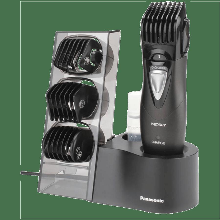 Panasonic Stainless Steel Blades Cordless Trimmer (4 Length Settings, ER-GY10-K44B, Black)