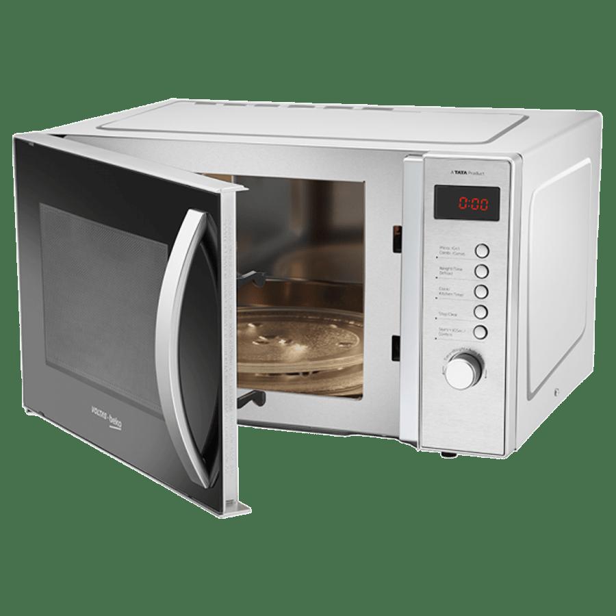 Voltas Beko 23 Litre Convection Microwave Oven (MC23BSD, Inox)_4