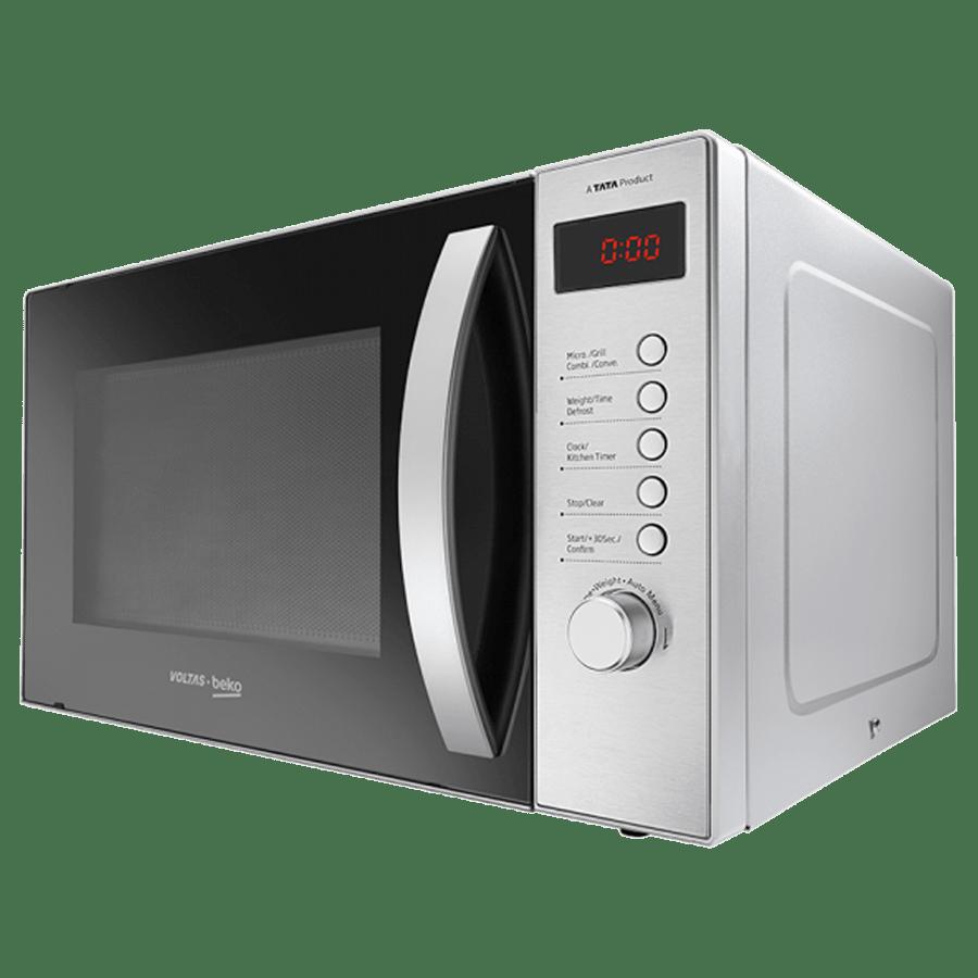 Voltas Beko 23 Litre Convection Microwave Oven (MC23BSD, Inox)_2