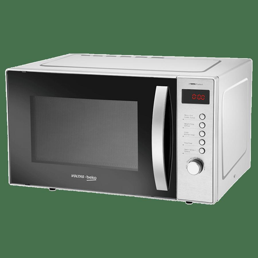 Voltas Beko 23 Litre Convection Microwave Oven (MC23BSD, Inox)_3