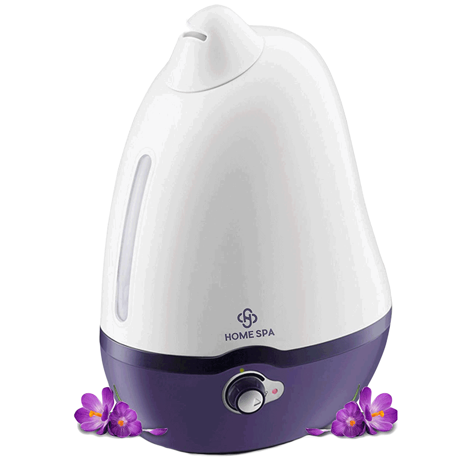 Dr. Trust HomeSpa Cool Mist Humidifier (Dolphin, Purple)