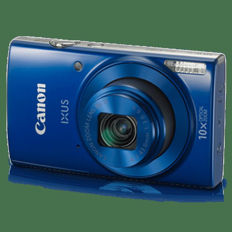 Canon 20 MP Digital Camera (IXUS 190, Blue)