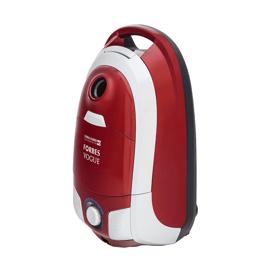 Eureka Forbes Vogue 1400 Watts Dry Vacuum Cleaner (0.56 Litres Tank, Red)