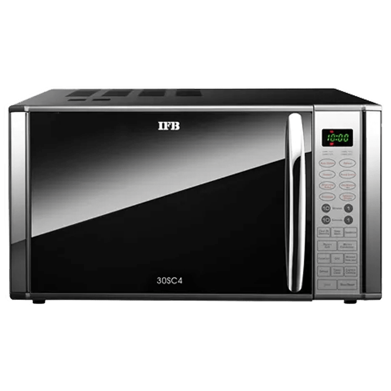 IFB 30 Litres Convection Microwave Oven (Child Safety Lock, 30SC4, Metallic Silver)